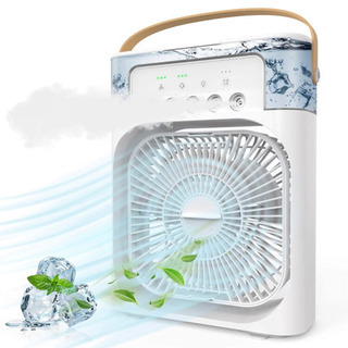 【新品未使用】冷風扇 冷風機 卓上 冷風機 小型 卓上クーラー ...