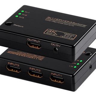 【新品未使用】HDMI分配器 2.0 HDMI切替器 HDMIセ...