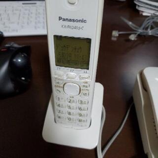 値下げしました。Panasonic 留守番電話