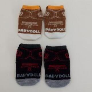 BABY DOLL ベビー靴下【未使用】2組300円