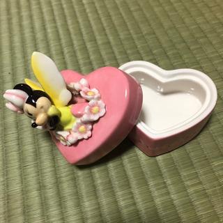 【ネット決済】ミニーマウス 収納グッズ 陶器