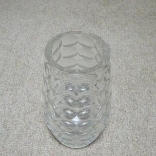 花瓶 ガラス製 大型 27センチ - 杉並区