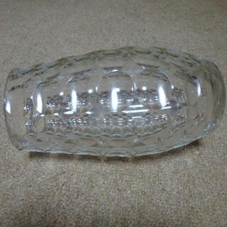 花瓶 ガラス製 大型 27センチ - 生活雑貨