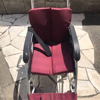 National★ナショナル ワインレットカラーが素敵な車椅子(...