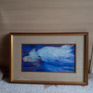 絵画『オフィリア』 田島なす美