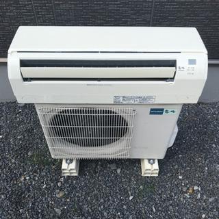 中古エアコン取付工事