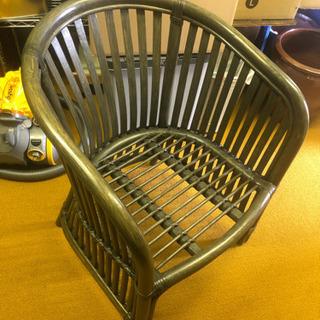 籐 チェアー 椅子