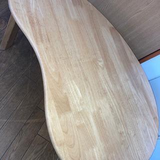 折り畳みテーブル 木目 ナチュラル ローテーブル 座卓