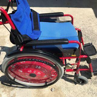 ★お洒落な★手押し式車椅子■きさく工房★★5800円★下見…