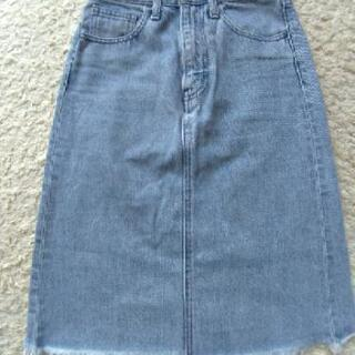 moussy デニムスカート