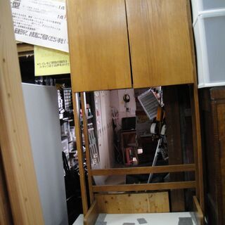 2ドアキャビネット 収納棚 フリーボード