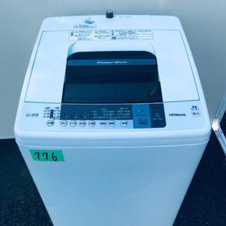 ②‼️7.0kg‼️776番 HITACHI✨日立全自動電…