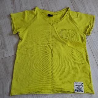 黄緑?黄色?シンプルtシャツ110