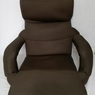 座椅子 こげ茶色 メッシュ カバー取り外し可