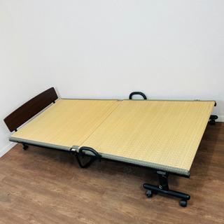 【ネット決済・配送可】折りたたみ畳ベッド 参考価格¥30,000