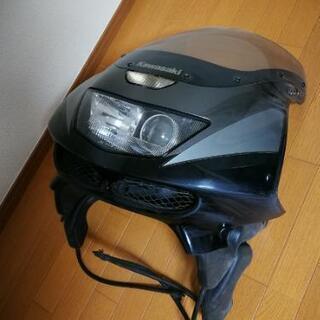 【ネット決済】ZX-9R アッパーカウル(スクリーン、ヘッドライ...