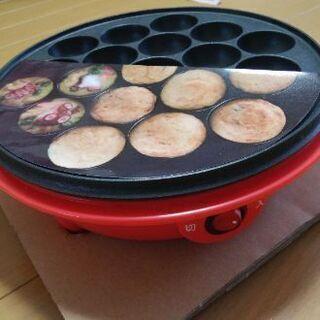 たこ焼き器◆電気/お手入れ簡単フッ素加工 - 家電