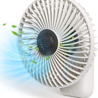 【新品・未使用】3WAY 携帯扇風機の画像