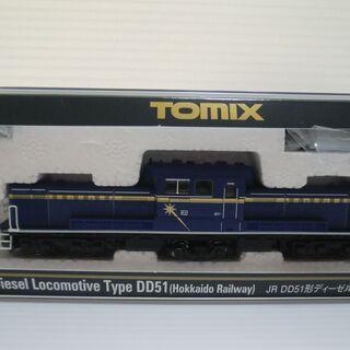 Nゲージ TOMIX JR DD51形ディーゼル機関車(JR北海道色) - 売ります・あげます