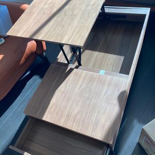 【ニトリ】昇降式リビングテーブル 使用期間1年 美品 − 東京都