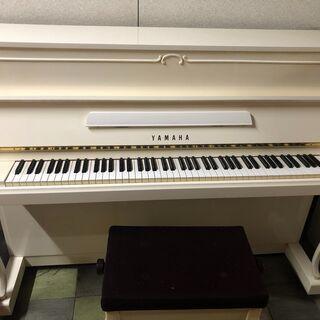 ★希少価値・美品★中古ピアノYAMAHA W116HC /ホワイト