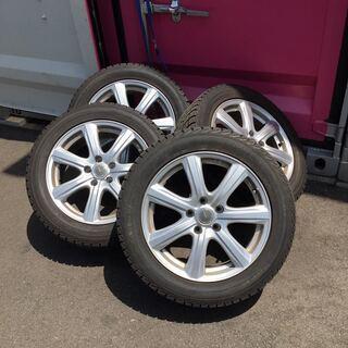 215/55R17 スタッドレス タイヤ アルミ付き ICEgu...