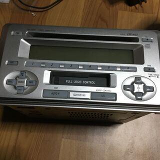 トヨタ 純正 カーオーディオ カセット チューナー CD デッキ...