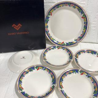 未使用品 MARIO VALENTINO   大皿 小皿 …