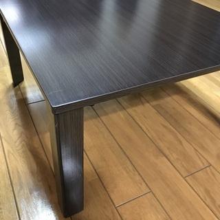ニトリ 折りたたみテーブル 座卓 ローテーブル - 家具