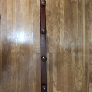 木製壁掛けフック【新品】値下げしました