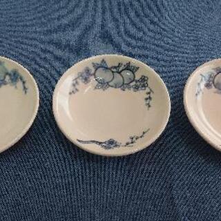 アジアンな小皿 3枚
