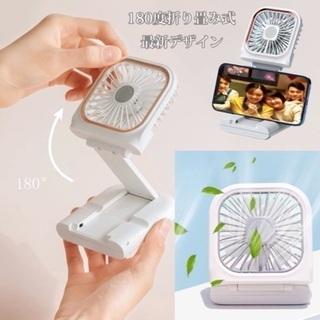 携帯扇風機 首掛け扇風機 ハンディファン 手持ち扇風機 USB...