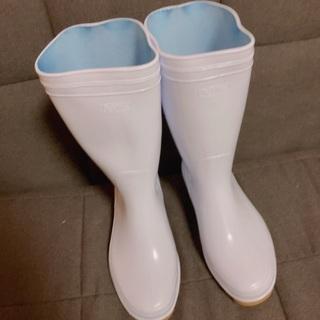 白長靴 24cm