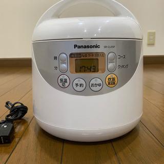 【ネット決済】炊飯器 3合炊き Panasonic 2010年式