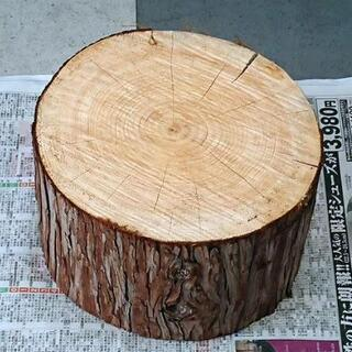 檜 薪割り台