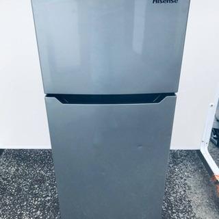 ✨2018年製✨1072番 Hisense✨2ドア冷凍冷蔵…