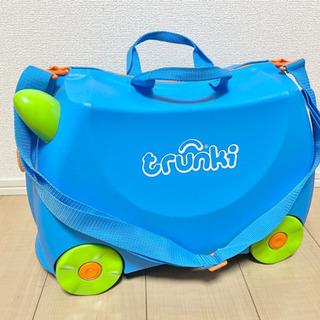 美品 trunki トランキ 乗って遊べる スーツケース …