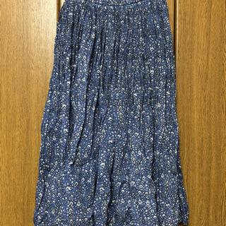 綿ロングスカート #114