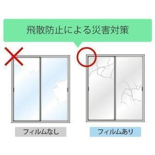 ガラスフィルム!防犯·UVカット·飛散防止等