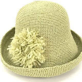 手編み<和紙で編む夏の帽子> 自由が丘