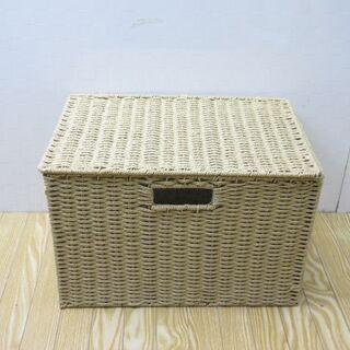 【ネット決済・配送可】jtp-0144 小花内張りボックス 蓋付き