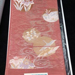 袋帯② 西陣織(証紙付き)、正絹、未使用品