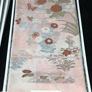 袋帯④ 西陣織(証紙付き)、正絹、未使用品
