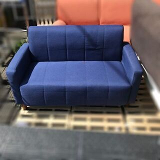 オーヤマ ファブリックソファ2P FBS-2P【自社配送は札幌市内限定】2人掛けソファ 布製 ファブリック 2人掛け シンプル 椅子  - 家具
