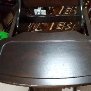 ルチュ 木製ワンタッチハイチェア