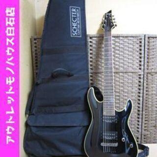 シェクター エレキギター AD-C7 ブラックジャック 7弦 ギ...
