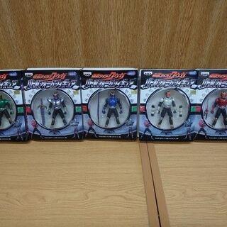 バンプレスト 仮面ライダークウガ バトルフォームフィギュア 全5...
