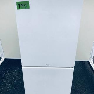 ①995番 MORITA ✨ノンフロン冷凍冷蔵庫✨MR-F…