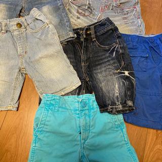 90〜100サイズ 夏ズボン まとめ売り