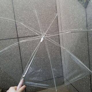 ビニール傘 ※取りに来られる方にさしあげます
